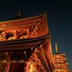Azakuua Tempel Tokyo