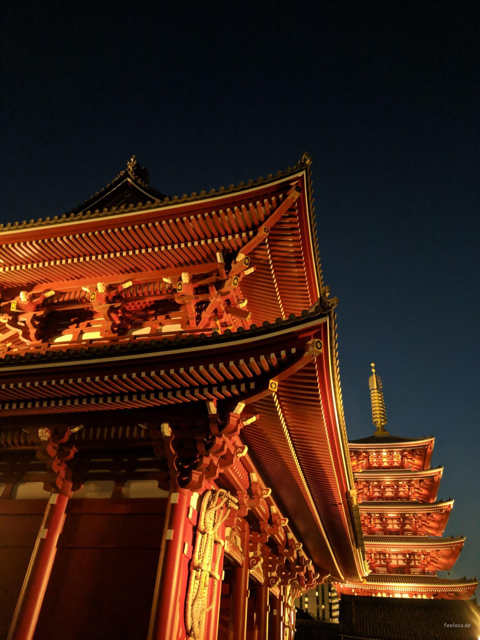 Azakusa Tempel Tokyo