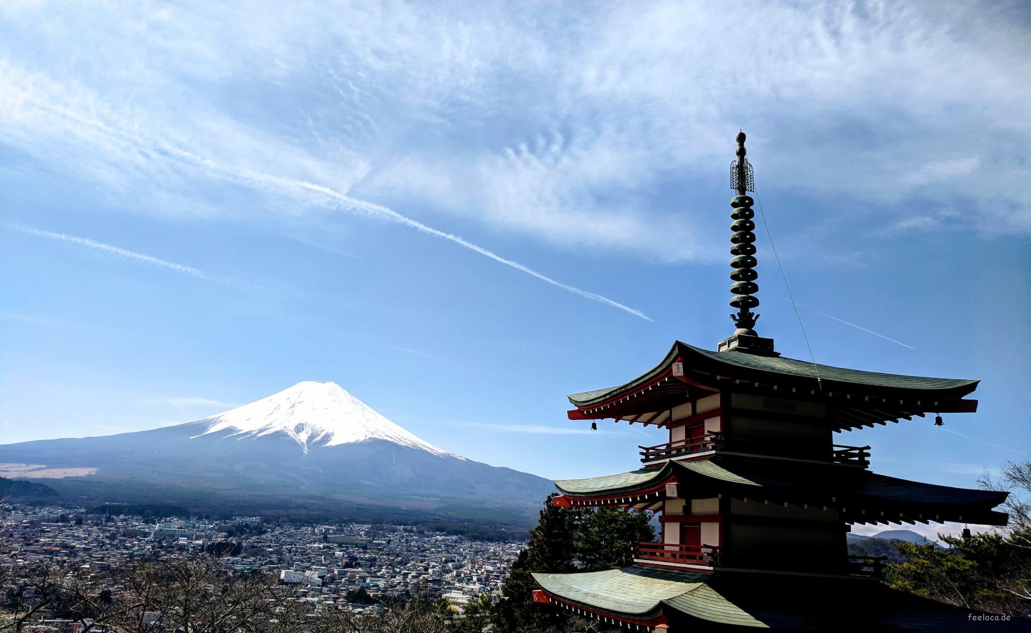Mt. Fuji Ausblick