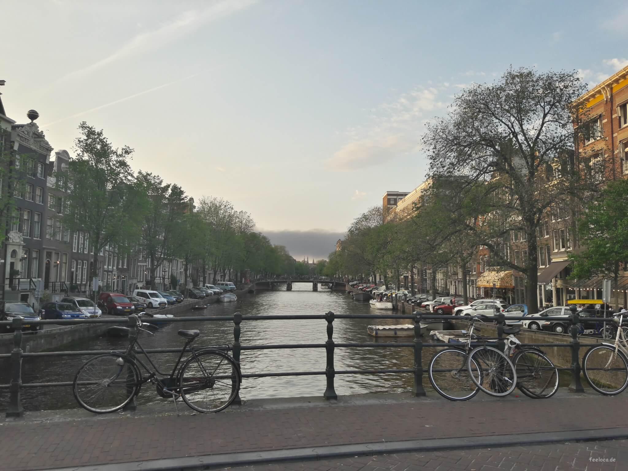 Amsterdam Fahrrad Kanal