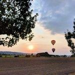 Ballon Sunset