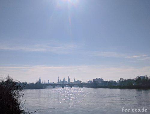 Frühlingserwachen Elbe