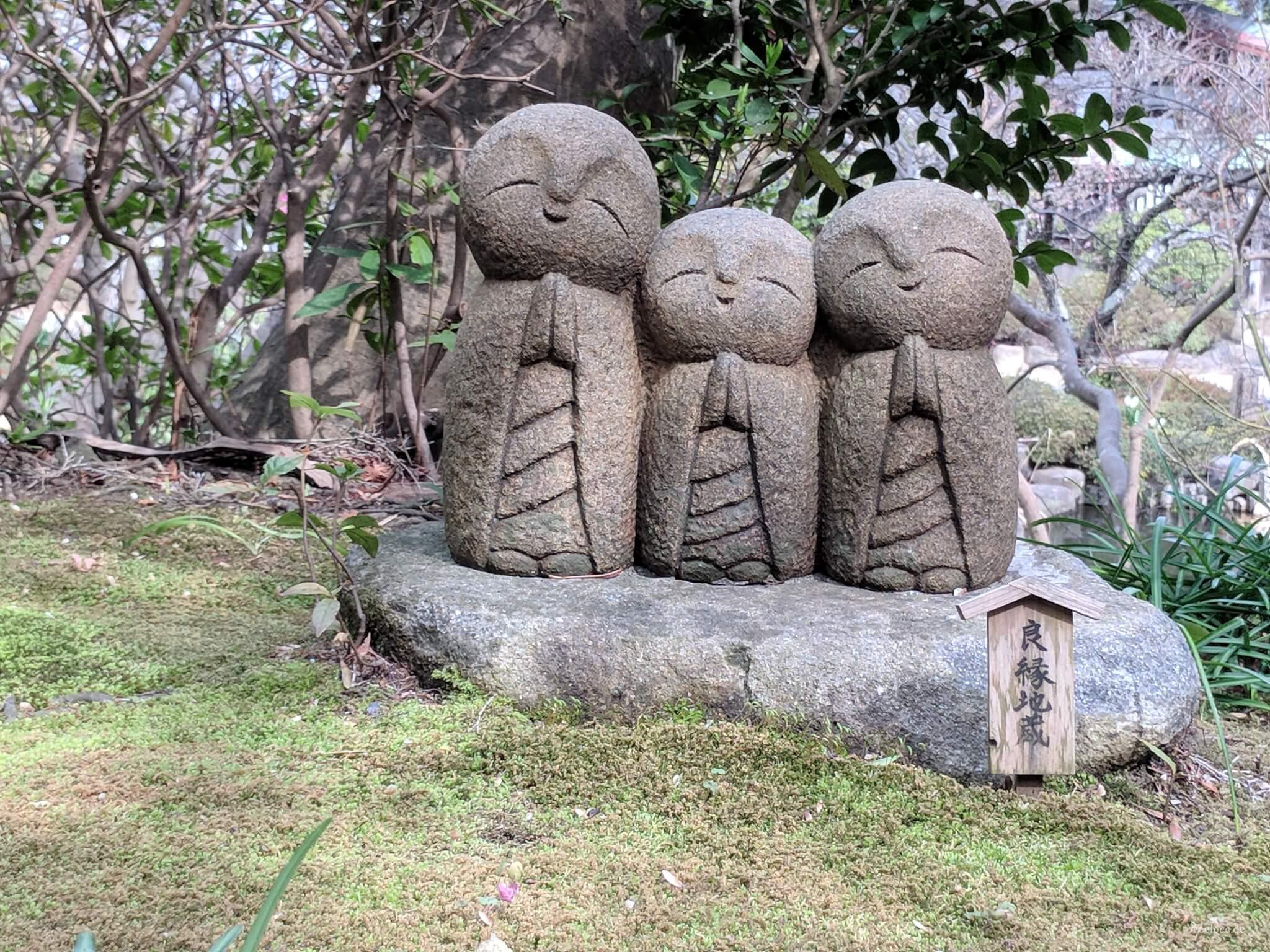 Die lächelnden Drei
