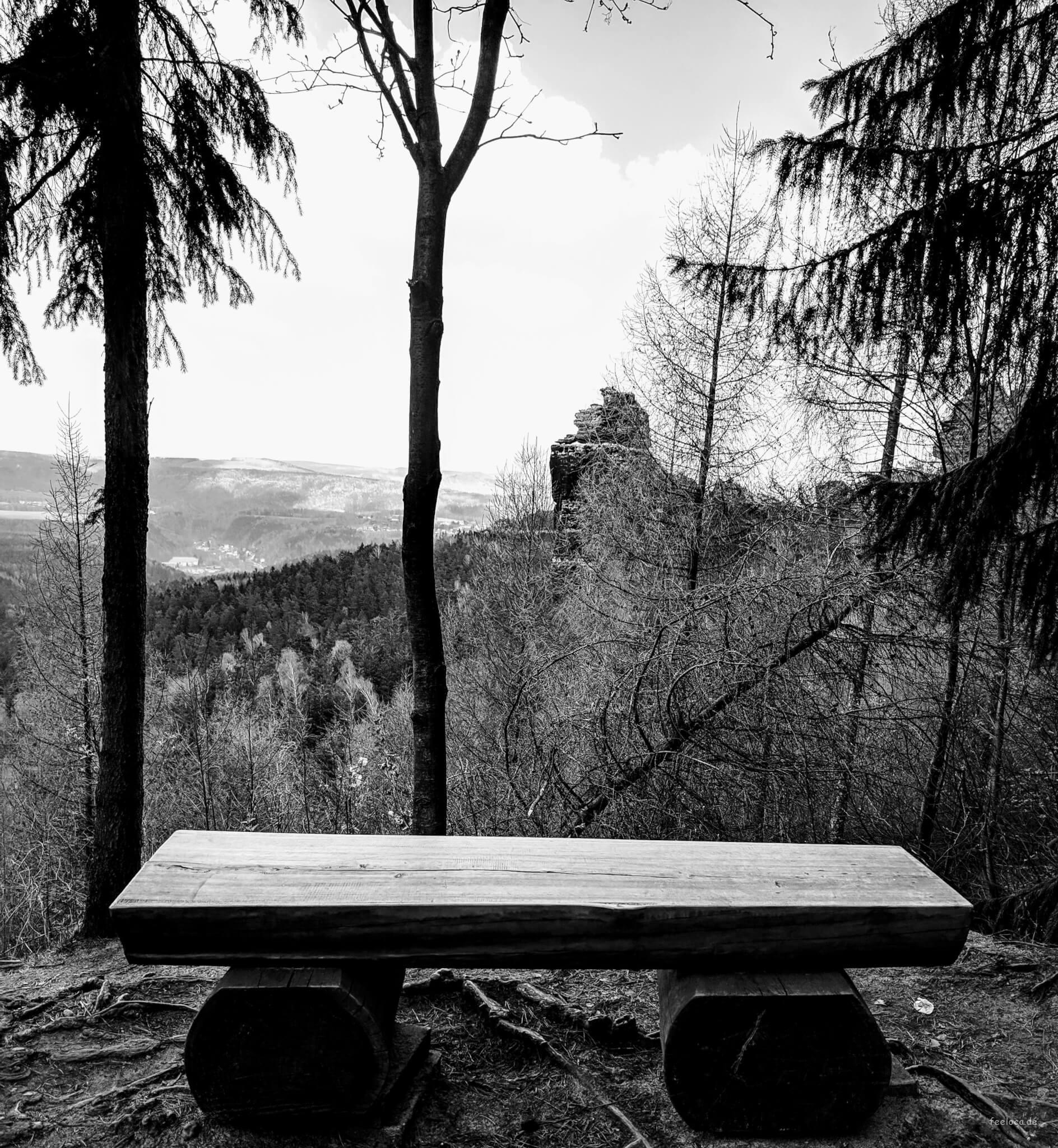 Ausblick Sächsische Schweiz