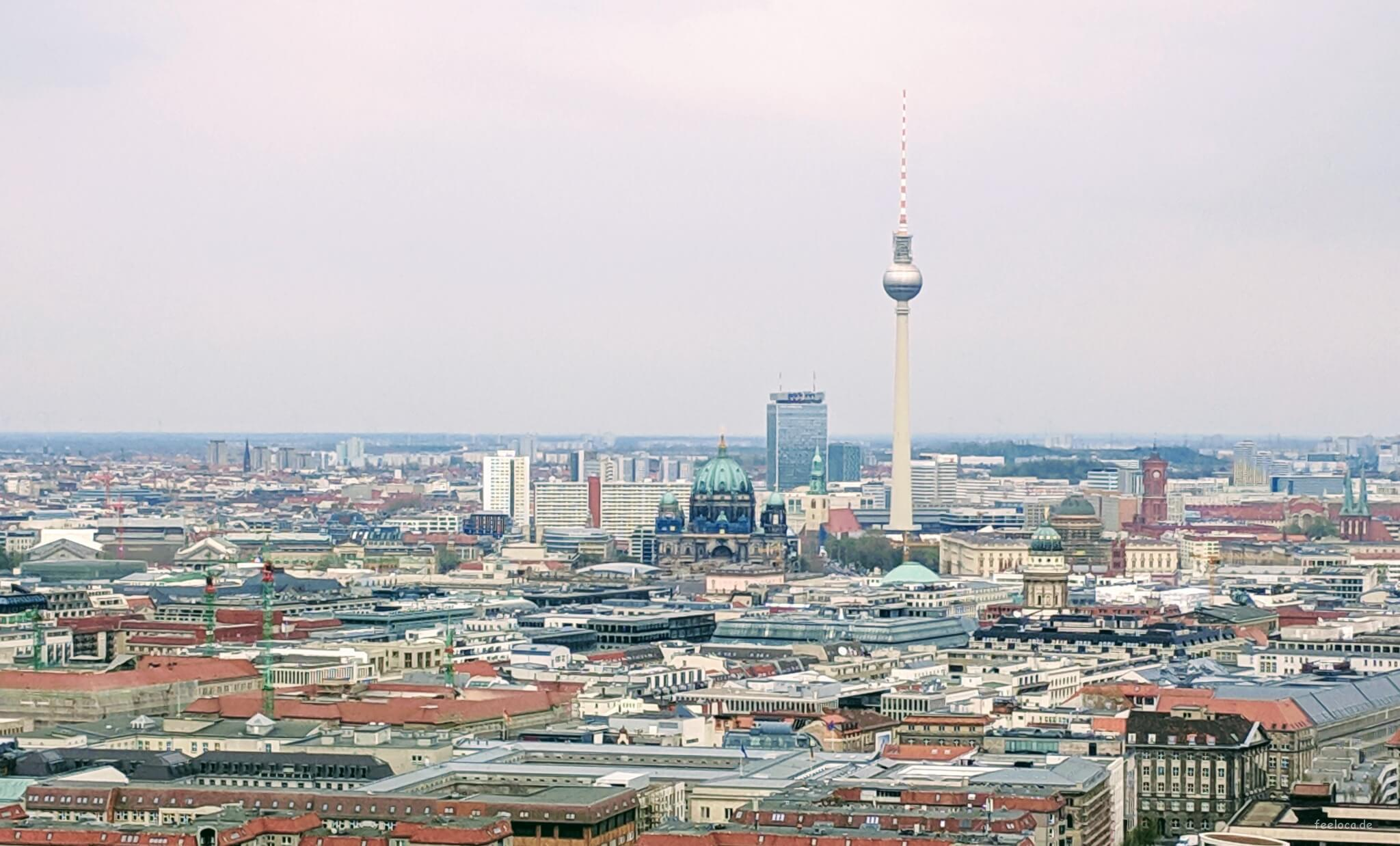 Berlin View Panoramablick Potsdamer Platz