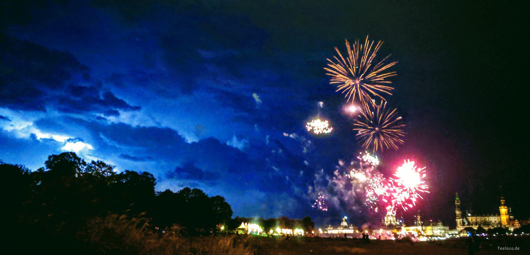 Canaletto Feuerwerk