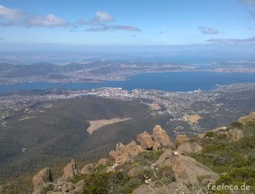 Aussicht Mount Wellington