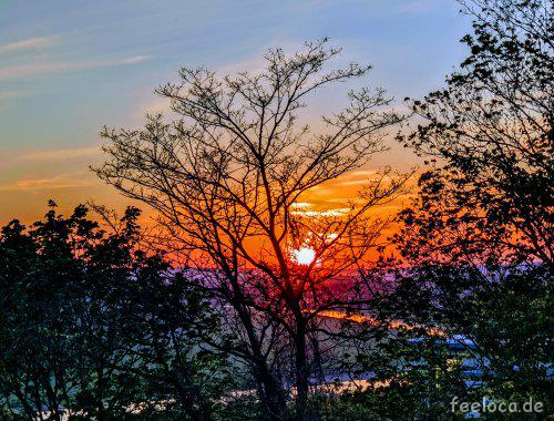 Sunset Schwebebahn