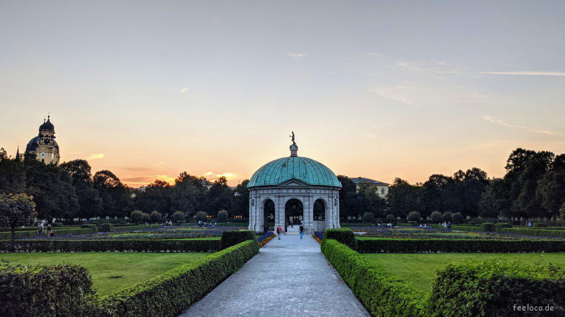 Dianatempel Hofgarten