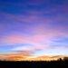 Sunset über der Elbe