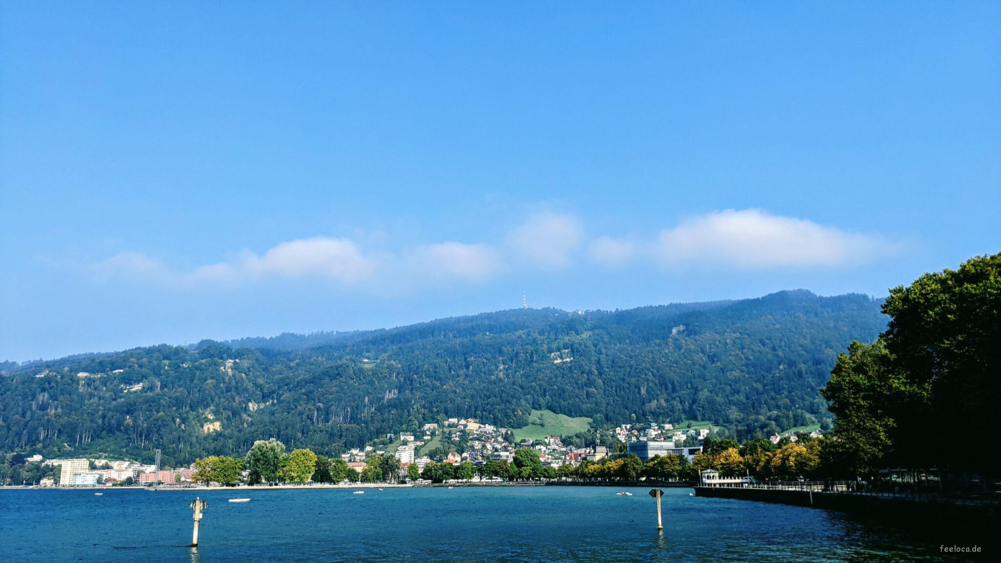 Aussicht Seebühne Bregenz