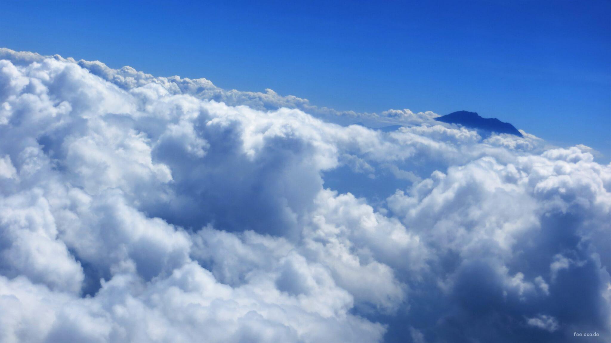 Batur Wolkengipfel