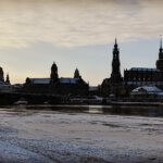 Dresden Winter Skyline