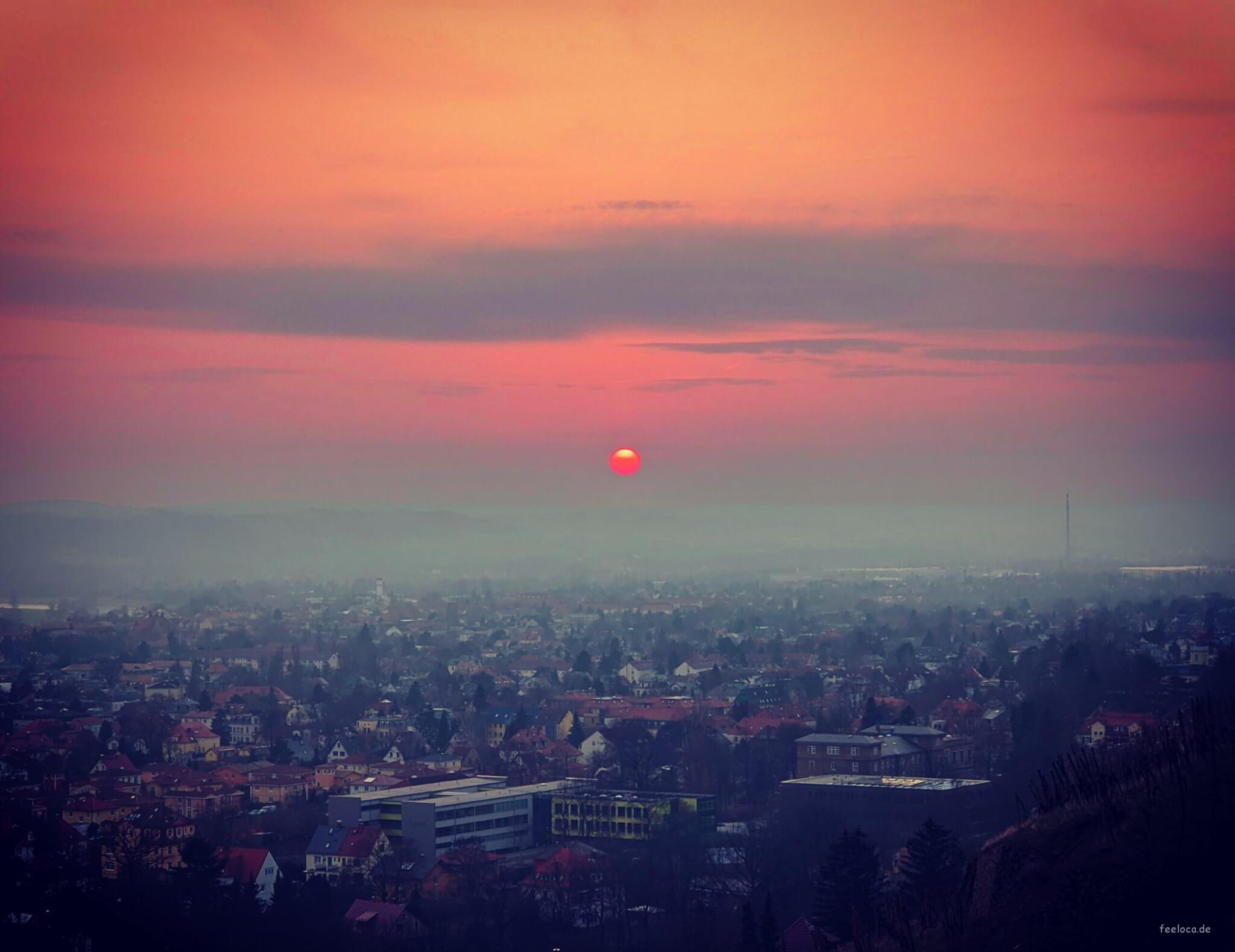 Bismarckturm Sunset